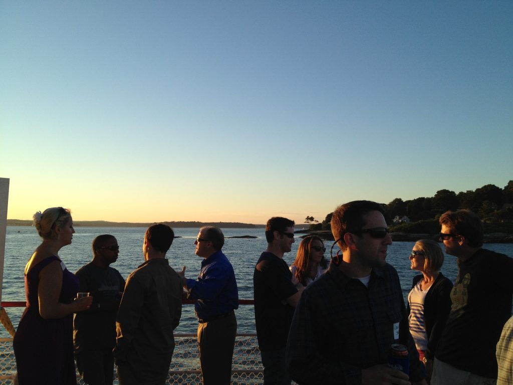 PubHub Cruise on Casco Bay
